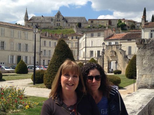 Me and Sue in Saintes