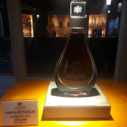 Yes, € 3720.00for a bottle of Cognac