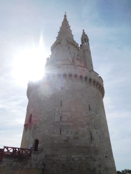 One of three towers of La Rochelle