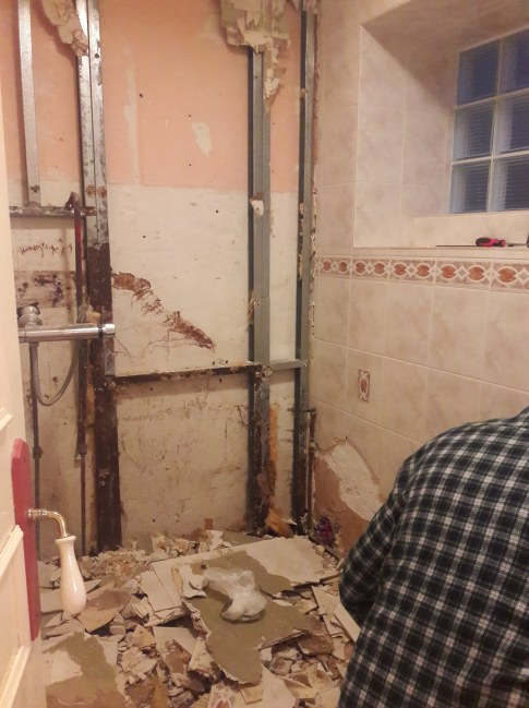 The end of the smelly shower room